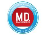 Логотип Medical Delivery (Медикал Деливери)