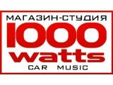 Логотип 1000 Watts, автоцентр