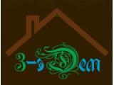 Логотип 3-эДем, производственно-строительная компания