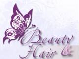 Логотип Beauty & Hair, торговая компания