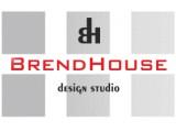 Логотип Brendhouse, студия архитектуры и дизайна