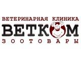 Логотип ВетКом, ветеринарная клиника