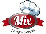 Логотип MIX ресторан доставки