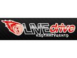 Логотип LiveDrive, картинг-центр