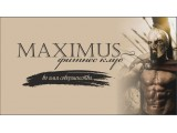 Логотип MAXIMUS, фитнес-клуб