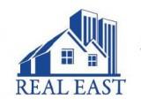 Логотип REAL EAST, агентство недвижимости, Тюменский филиал турецкой компании REAL EAST