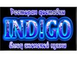 "Логотип Ресторан доставки ""Индиго"""