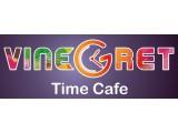 Логотип Тайм-кафе Vinegret Антикафе