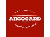 Логотип ArgoCard Изготовление пластиковых карт в Тюмени