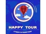 Логотип Happy-Tour, студия путешествий