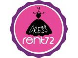 Логотип прокат платьев Dress RENT72