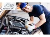 Логотип Онлайн-сервис по бронированию автосервисных услуг AutoState